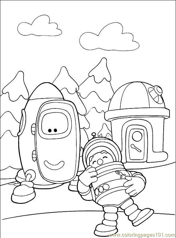 Engie Benjy 001 3 Coloring Page