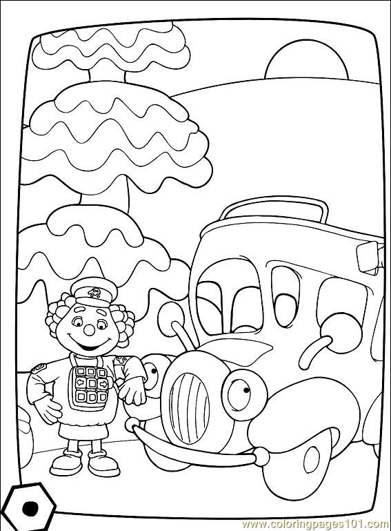 Engie Benjy 001 4 Coloring Page