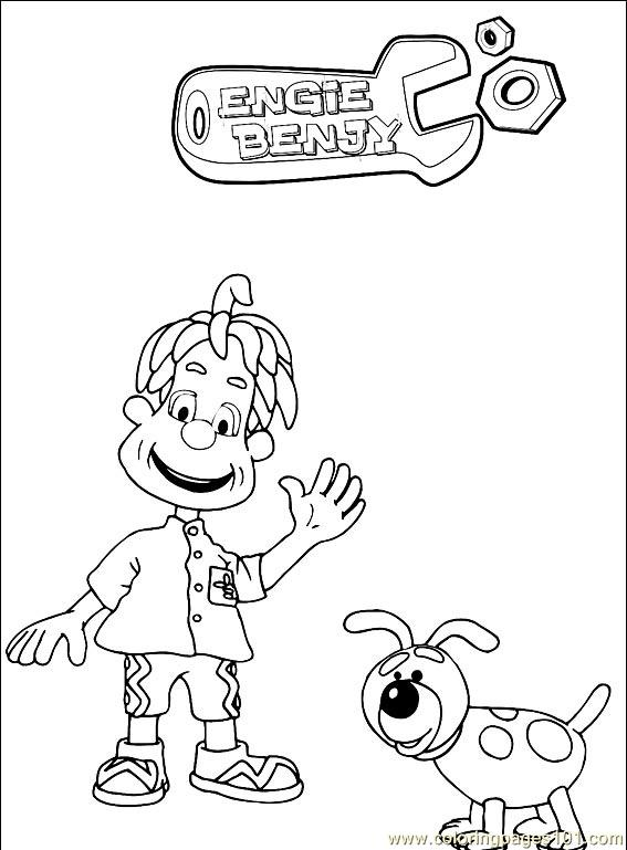 Engie Benjy 001 Coloring Page
