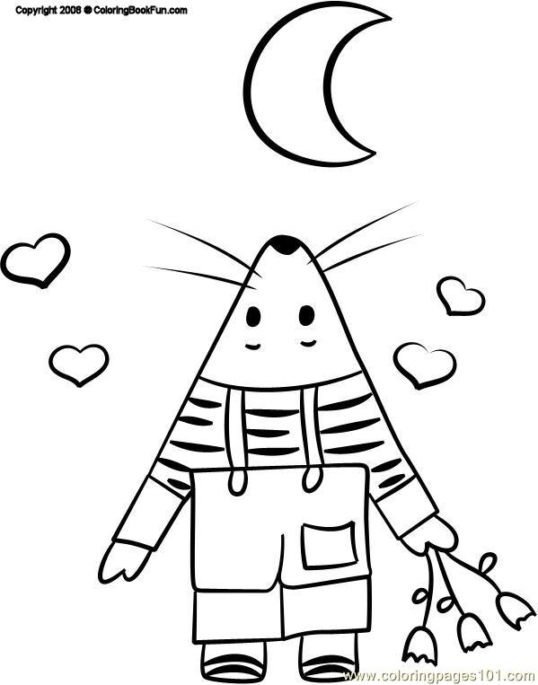 15 Mouse 3 Coloring Page