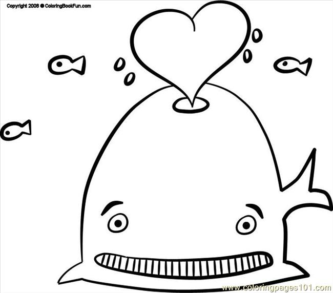 17 Whale 3 Coloring Page