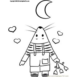 15 Mouse 3 Free Coloring Page for Kids