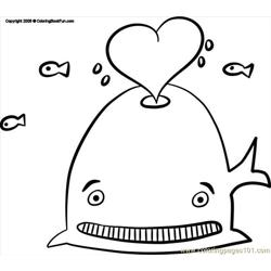 17 Whale 3 Free Coloring Page for Kids