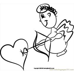 19 Angel2 3 Free Coloring Page for Kids