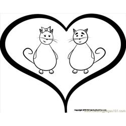 23 Cats 3 Free Coloring Page for Kids