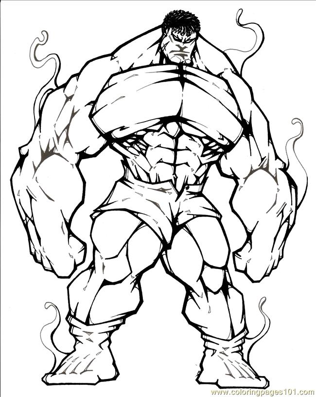 Fantastic Four12 Coloring Page - Free Fantastic Four Coloring Pages ...
