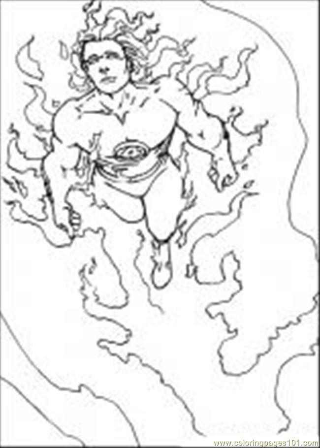 Fantastic Four14 Coloring Page