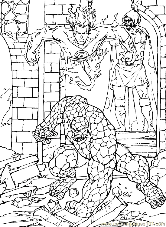 Fantastic Four.jpg (37) Coloring Page