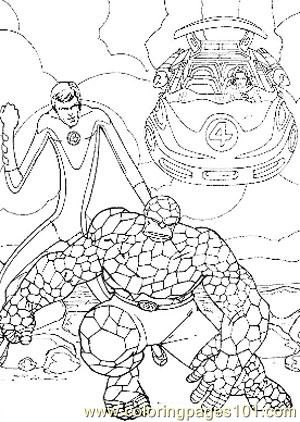 Fantastic Four22 Coloring Page