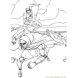 Fantastic Four Coloring Page (12)