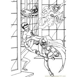 Fantastic Four Coloring Page (14)