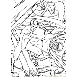 Fantastic Four Coloring Page (28)