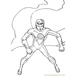 Fantastic Four Coloring Page (29)