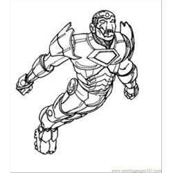 Fantastic Four10 Free Coloring Page for Kids