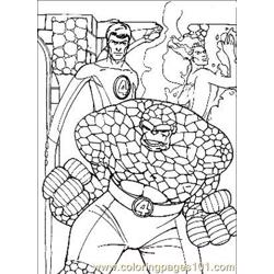 Fantastic Four.jpg (14) Free Coloring Page for Kids