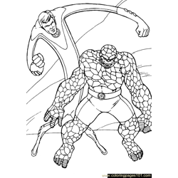 Fantastic Four.jpg (35) Free Coloring Page for Kids