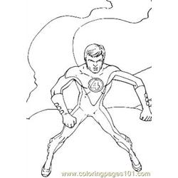 Fantastic Four.jpg (4) Free Coloring Page for Kids