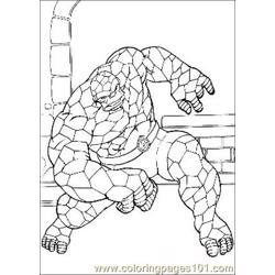 Fantastic Four.jpg (5) Free Coloring Page for Kids