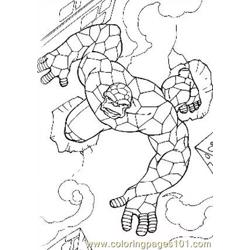 Fantastic Four.jpg (7) Free Coloring Page for Kids