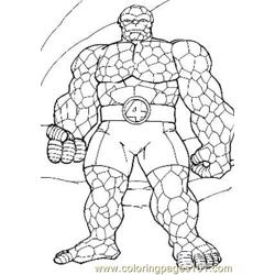 Fantastic Four.jpg (8) Free Coloring Page for Kids