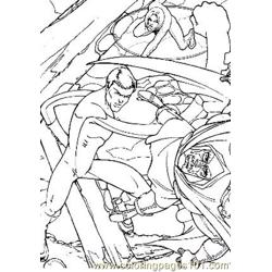 Fantastic Four43 Free Coloring Page for Kids