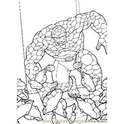 Fantastic Four78 coloring page