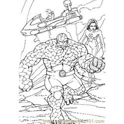 Fantastic Four85 coloring page