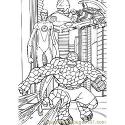 Fantastic Four86 coloring page