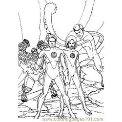 Fantastic Four88 coloring page
