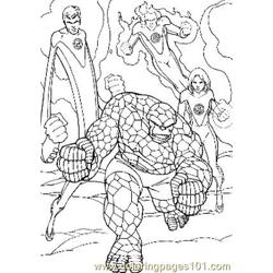 Fantastic Four92 coloring page