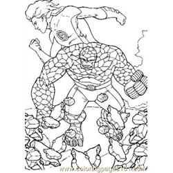 Fantastic Four94 coloring page