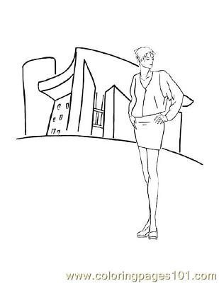 Fashion110 Coloring Page