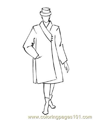 Fashion121 Coloring Page