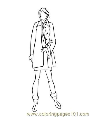 Fashion122 Coloring Page