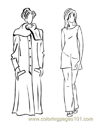 Fashion124 Coloring Page