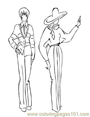 Fashion128 Coloring Page