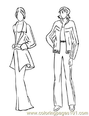 Fashion131 Coloring Page