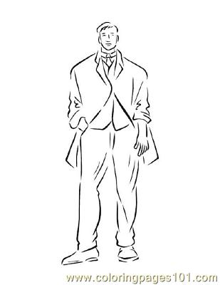 Fashion158 Coloring Page