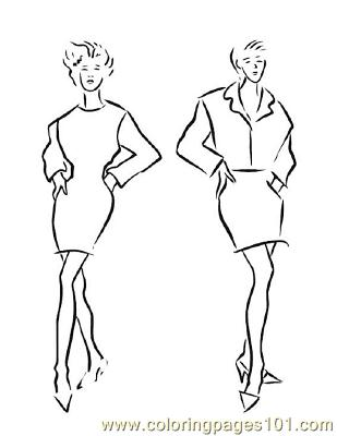 Fashion159 Coloring Page