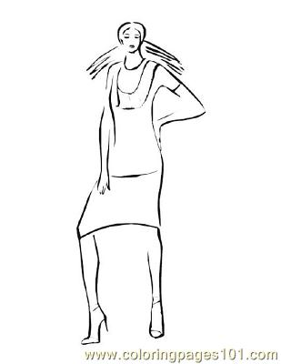 Fashion160 Coloring Page