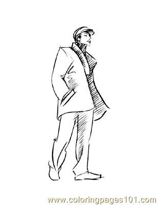 Fashion203 Coloring Page