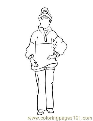 Fashion230 Coloring Page