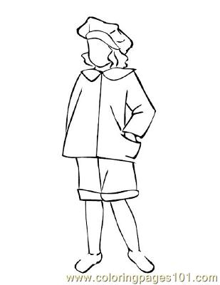 Fashion234 Coloring Page