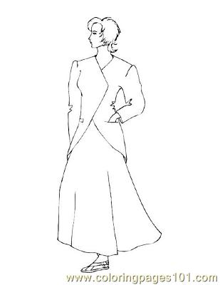 Fashion26 Coloring Page