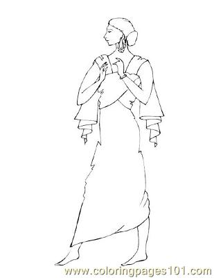 Fashion27 Coloring Page