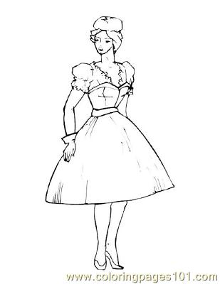 Fashion47 Coloring Page