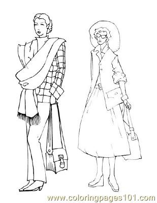 Fashion74 Coloring Page