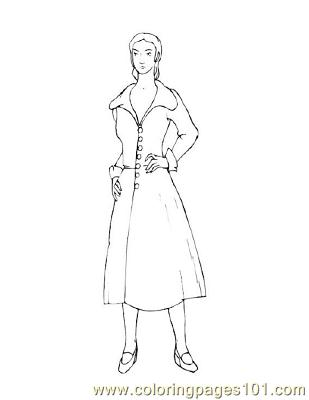 Fashion81 Coloring Page