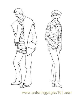 Fashion82 Coloring Page