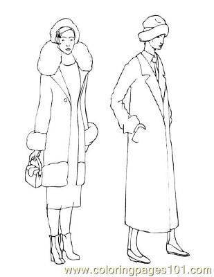 Fashion87 Coloring Page